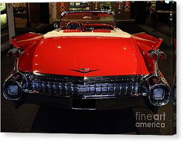 1959 Cadillac Convertible - 7d17377 Canvas Print by Wingsdomain Art and Photography