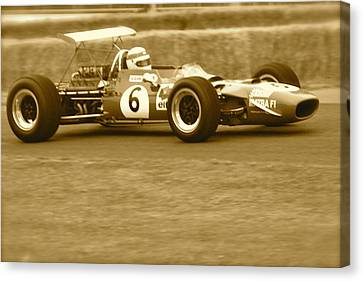 Canvas Print featuring the photograph 1960s Matra F1 by John Colley