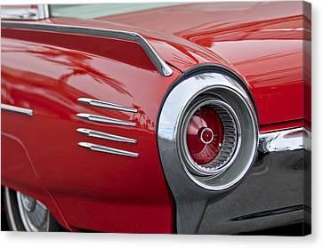 1961 Ford Thunderbird Taillight Canvas Print by Jill Reger
