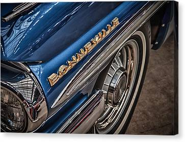 1962 Pontiac Canvas Print by James Woody