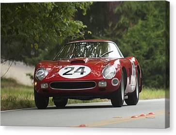 1964 Ferrari 250 Gto 64 Scaglietti Berlinette Canvas Print by Jill Reger