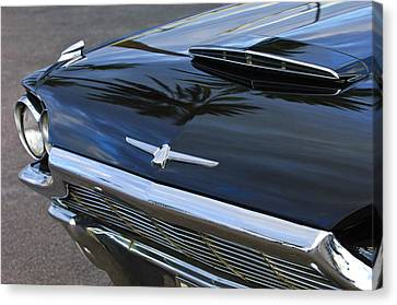 1964 Ford Thunderbird Front End Canvas Print by Jill Reger