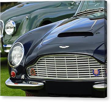 1965 Aston Martin Db6 Short Chassis Volante Canvas Print by Jill Reger