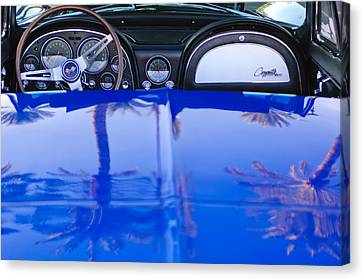 1965 Chevrolet Corvette Sting Ray Canvas Print by Jill Reger