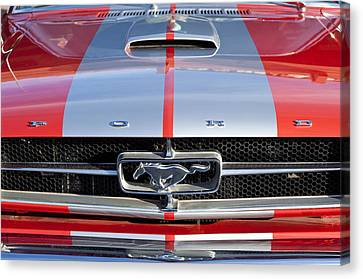 1965 Ford Mustang Front End Canvas Print