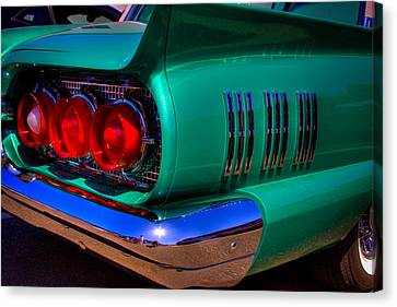 1966 Ford Thunderbird Canvas Print by David Patterson