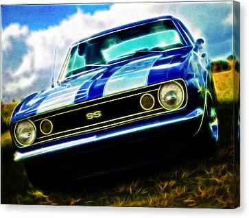 1967 Chevrolet Camaro Ss Canvas Print by Phil 'motography' Clark