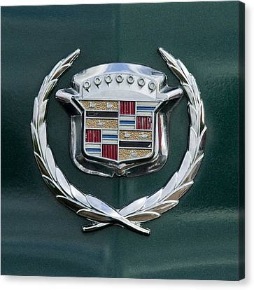 1969 Cadillac Eldorado Emblem 2 Canvas Print by Jill Reger