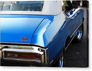 Canvas Print featuring the photograph 1971 Buick Gs by Gordon Dean II