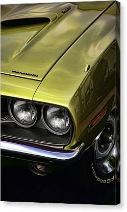 1971 Plymouth Barracuda 360 Canvas Print by Gordon Dean II