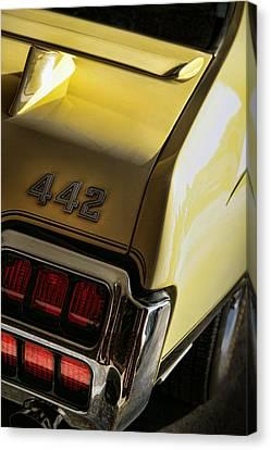 1972 Oldsmobile 442 Canvas Print by Gordon Dean II