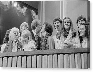 1976 Democratic Convention. Jimmy Canvas Print by Everett