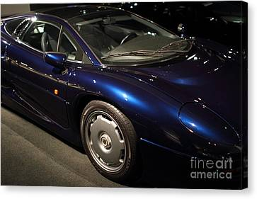 1992 Jaguar Xj220 - 7d17250 Canvas Print by Wingsdomain Art and Photography