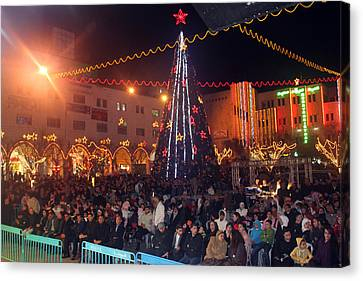 1st International Christmas Festival Canvas Print by Munir Alawi