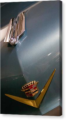 1955 Cadillac Eldorado 2 Door Convertible Canvas Print by David Patterson