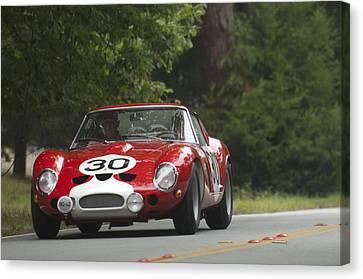 1962 Ferrari 250 Gto Scaglietti Berlinetta  Canvas Print by Jill Reger