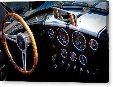 1966 Ford Ac Shelby Cobra 427 Canvas Print by David Patterson