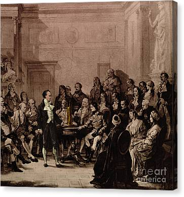 Alessandro Volta, Italian Physicist Canvas Print by Science Source