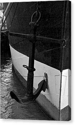 Anchor Canvas Print by Mike Horvath