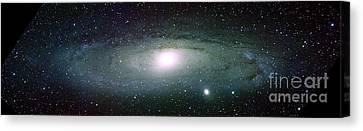 Andromeda Galaxy Canvas Print by Nasa