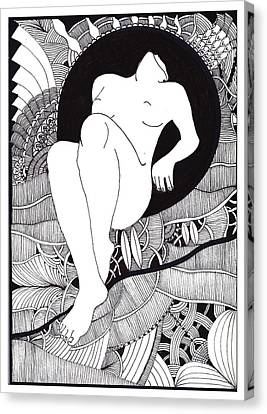 Art Canvas Print by Marek Burbul