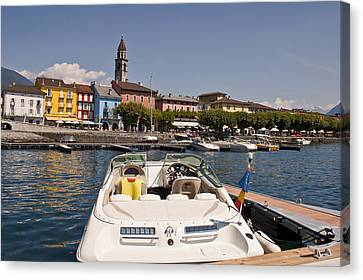 Ascona - Ticino Canvas Print
