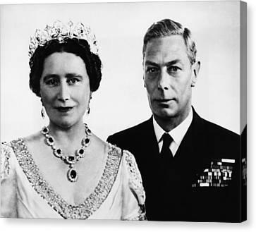 British Royalty. British Queen Canvas Print by Everett