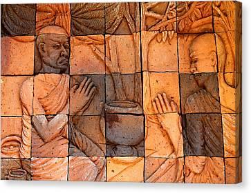 Buddha Image  Canvas Print by Panyanon Hankhampa