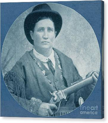 Calamity Jane, American Frontierswoman Canvas Print by Photo Researchers
