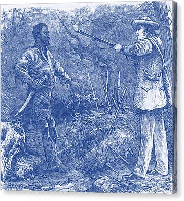Capture Of Nat Turner, American Rebel Canvas Print by Photo Researchers