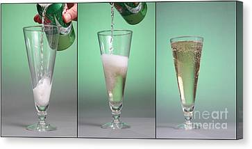 Carbonated Drink Canvas Print by Photo Researchers, Inc.