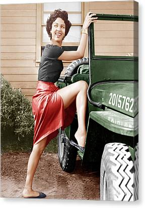 Carmen Jones, Dorothy Dandridge, 1954 Canvas Print by Everett