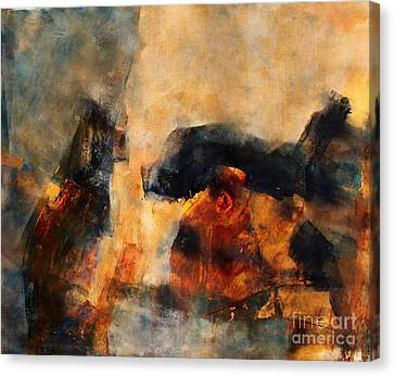 Celestial Notations Canvas Print by Neena Singh
