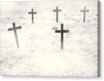Cemetery Canvas Print by Joana Kruse