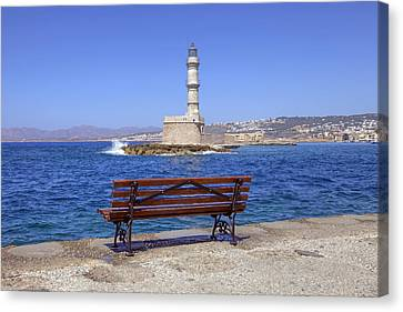 Chania - Crete Canvas Print by Joana Kruse