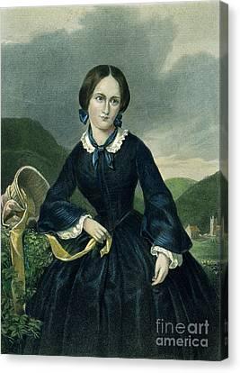 Charlotte Bront� Canvas Print by Granger