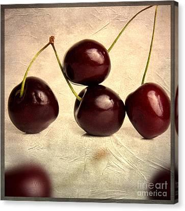 Nourishment Canvas Print - Cherries by Bernard Jaubert