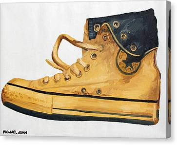Chucks Canvas Print by Michael Ringwalt