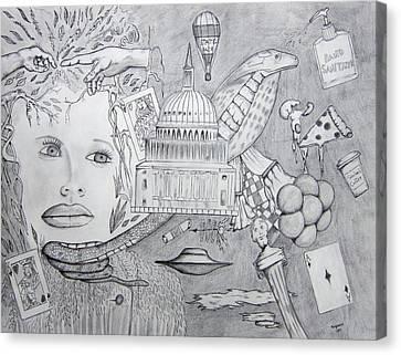 Cobra Canvas Print by Dan Twyman