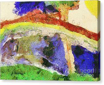 Colors Canvas Print by Odon Czintos