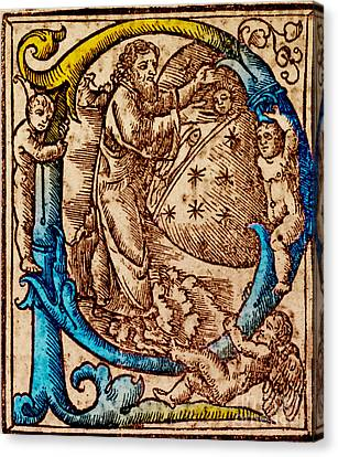 Creation, Giunta Pontificale, 1520 Canvas Print by Science Source