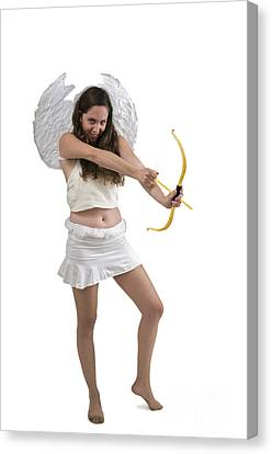 Cupid The God Of Desire Canvas Print by Ilan Rosen