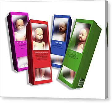Designer Babies Canvas Print