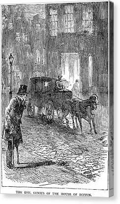 Dickens: Our Mutual Friend Canvas Print by Granger