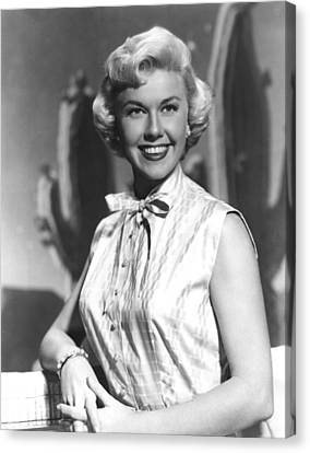 Doris Day, Warner Brothers, 1950s Canvas Print