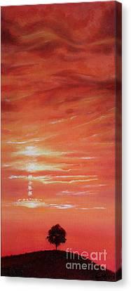 Dusk Day Dawn Series Canvas Print by Seth Corda