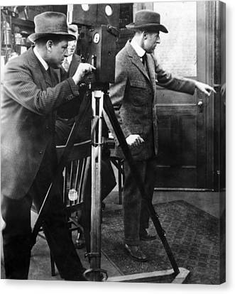 D.w. Griffith (1875-1948) Canvas Print by Granger
