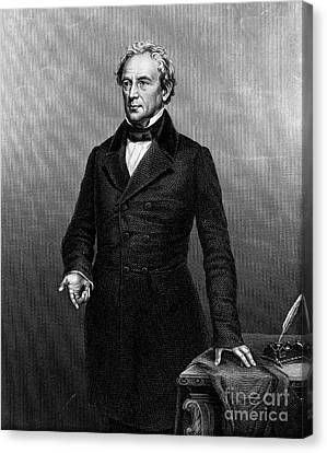 Edward Everett (1794-1865) Canvas Print by Granger