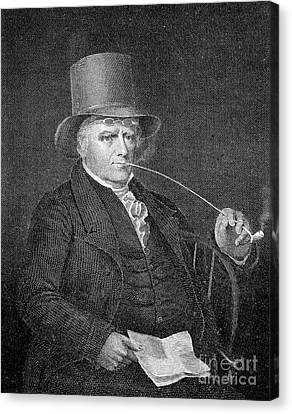 Elkanah Watson (1758-1842) Canvas Print by Granger