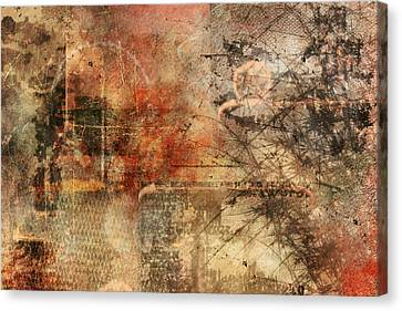 Entropy Canvas Print by Christopher Gaston